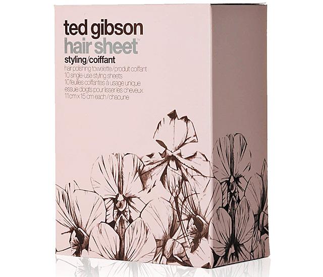 Салфетки для волос Ted Gibson Hair Sheet