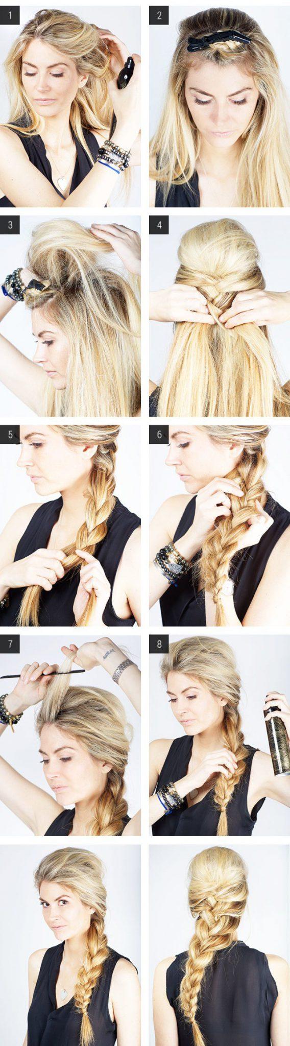 как заплсети объемную косу