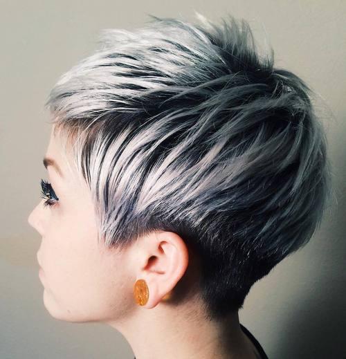 омбре на коротких волосах фото 10