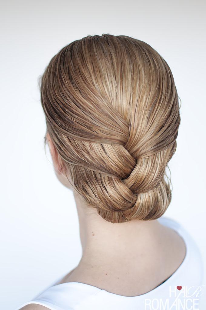 прическа из обычной косы фото 1