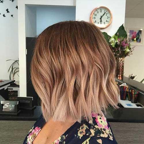 окрашивание коротких волос: фото 5