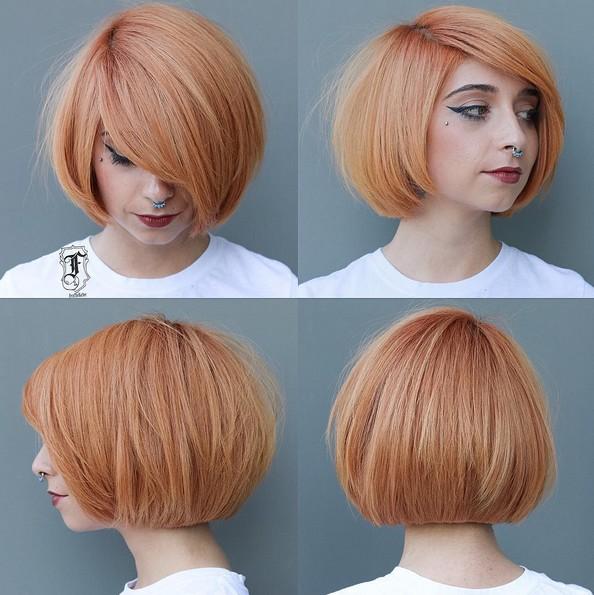 окрашивание коротких волос: фото 11