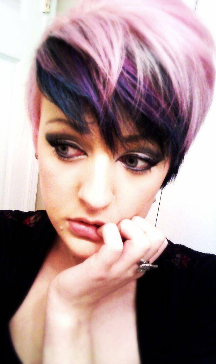 окрашивание коротких волос: фото 16