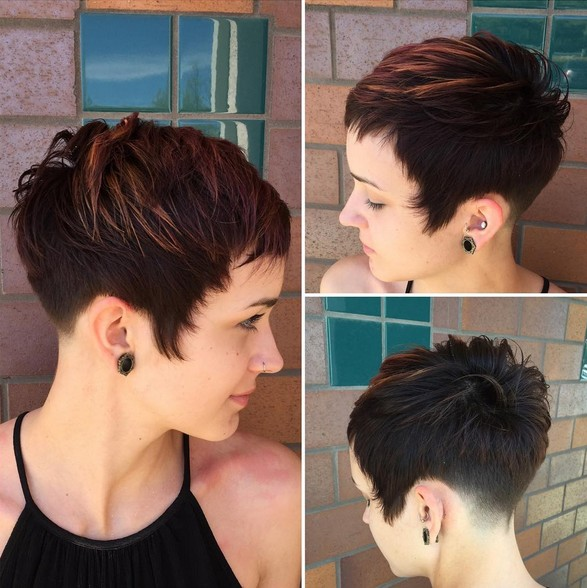 окрашивание коротких волос: фото 44