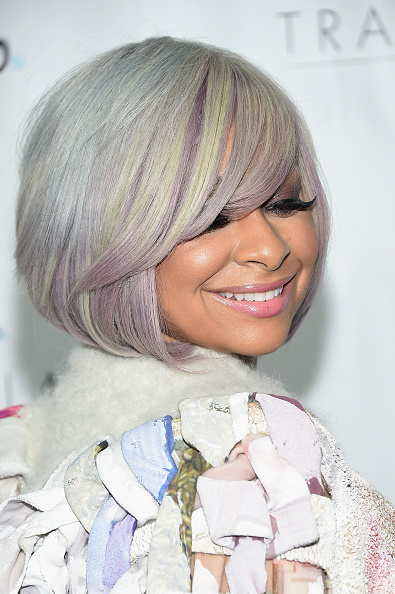 "NEW YORK, NY - JUNE 25:  Raven-Symone attends Logo's ""Trailblazer Honors"" 2015 at the Cathedral of St. John the Divine on June 25, 2015 in New York City.  (Photo by Michael Loccisano/Getty Images for Logo)"
