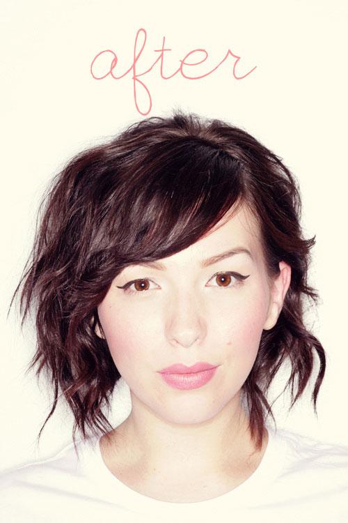 укладка на короткие волосы фото 24