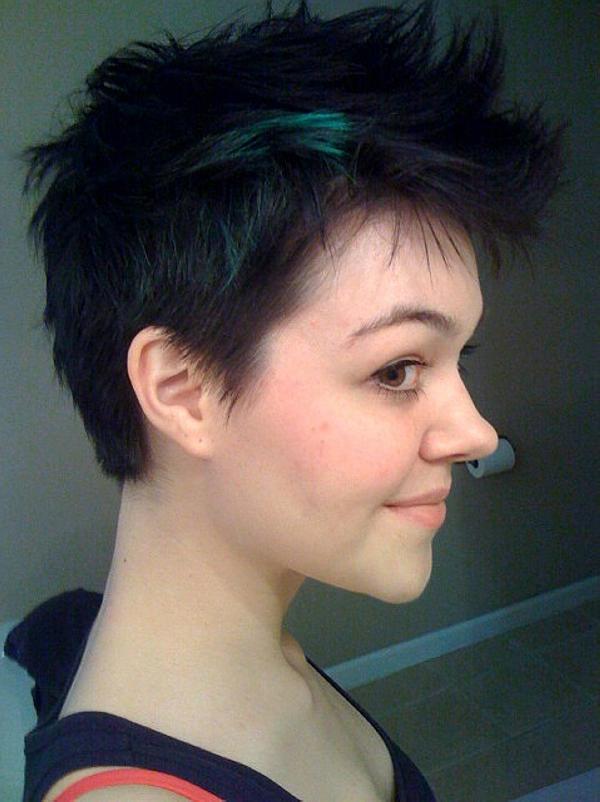 укладка на короткие волосы фото 27