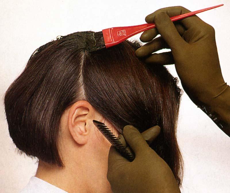как првильно красить волосы
