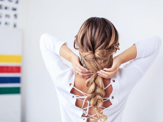 объемная коса фото 3