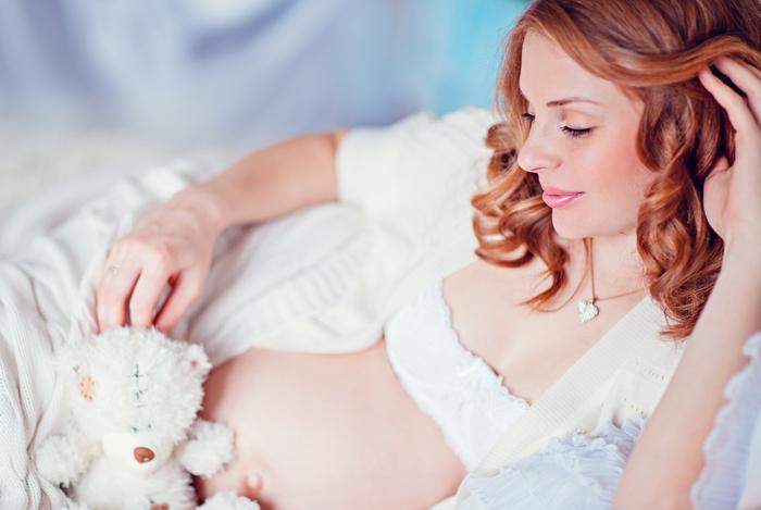 волосы во время беременности фото 1