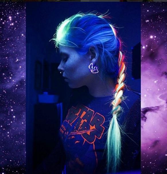 светящиеся волосы: фото 10