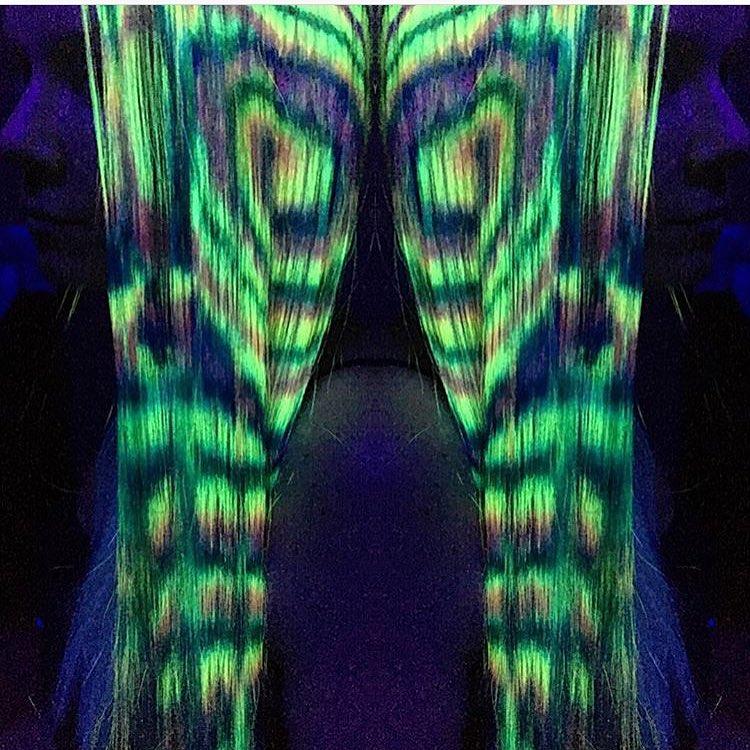 светящиеся волосы: фото 11