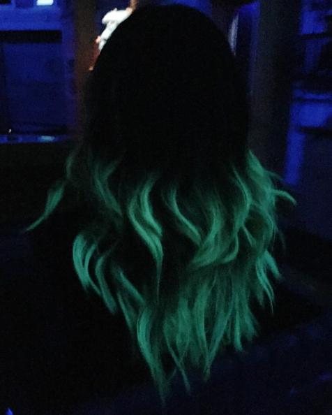светящиеся волосы: фото 18