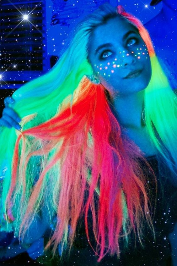 светящиеся волосы: фото 19