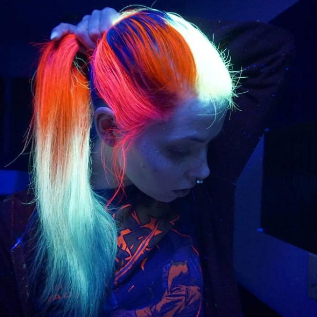 светящиеся волосы: фото 2