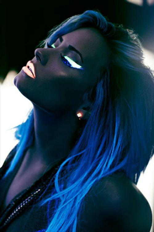 светящиеся волосы: фото 21