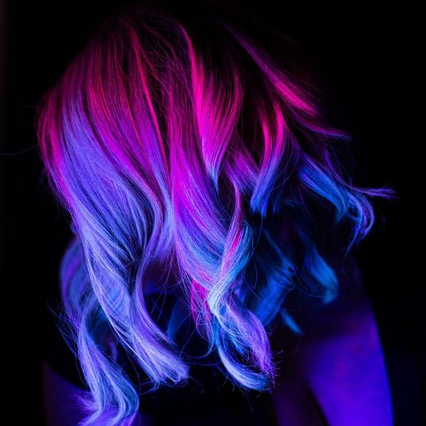 светящиеся волосы: фото 22