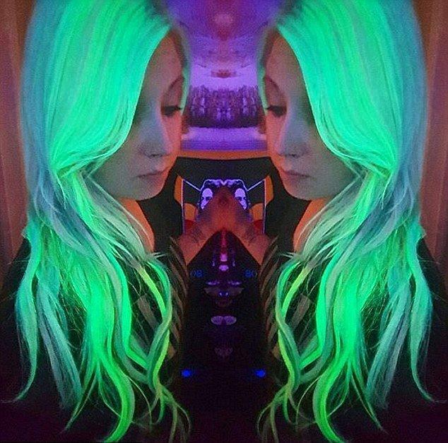 светящиеся волосы: фото 23