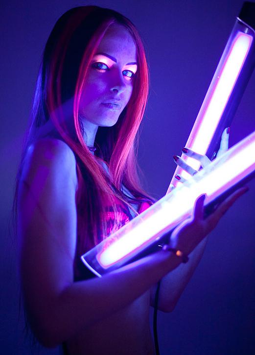 светящиеся волосы: фото 32