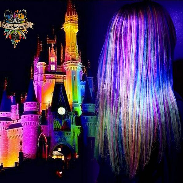 светящиеся волосы: фото 34