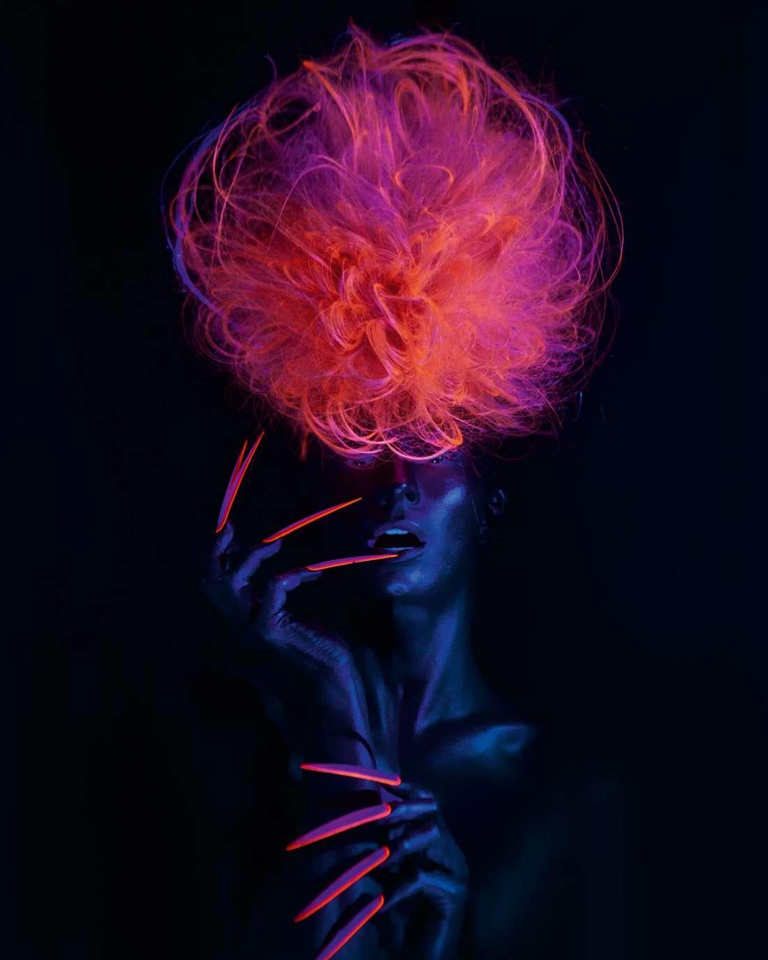 светящиеся волосы: фото 35