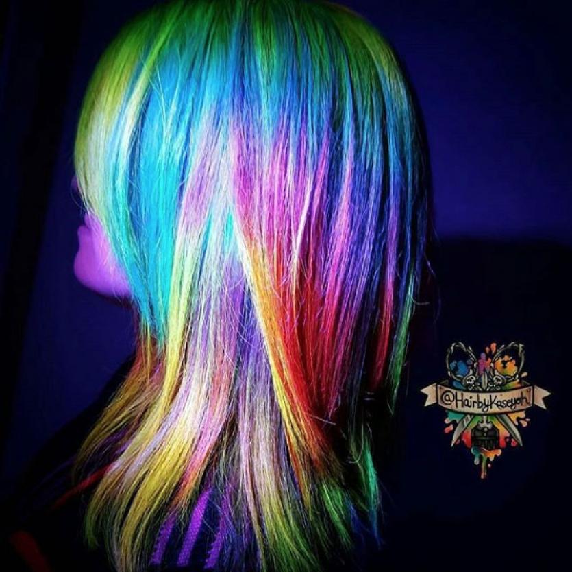 светящиеся волосы: фото 37