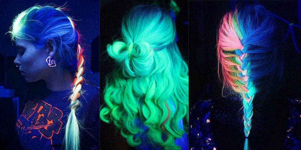 светящиеся волосы: фото 5