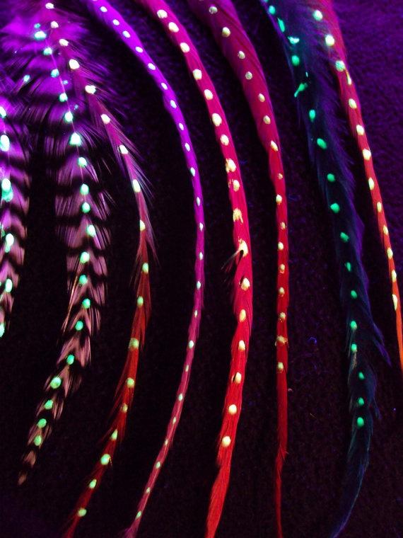 светящиеся волосы: фото 9