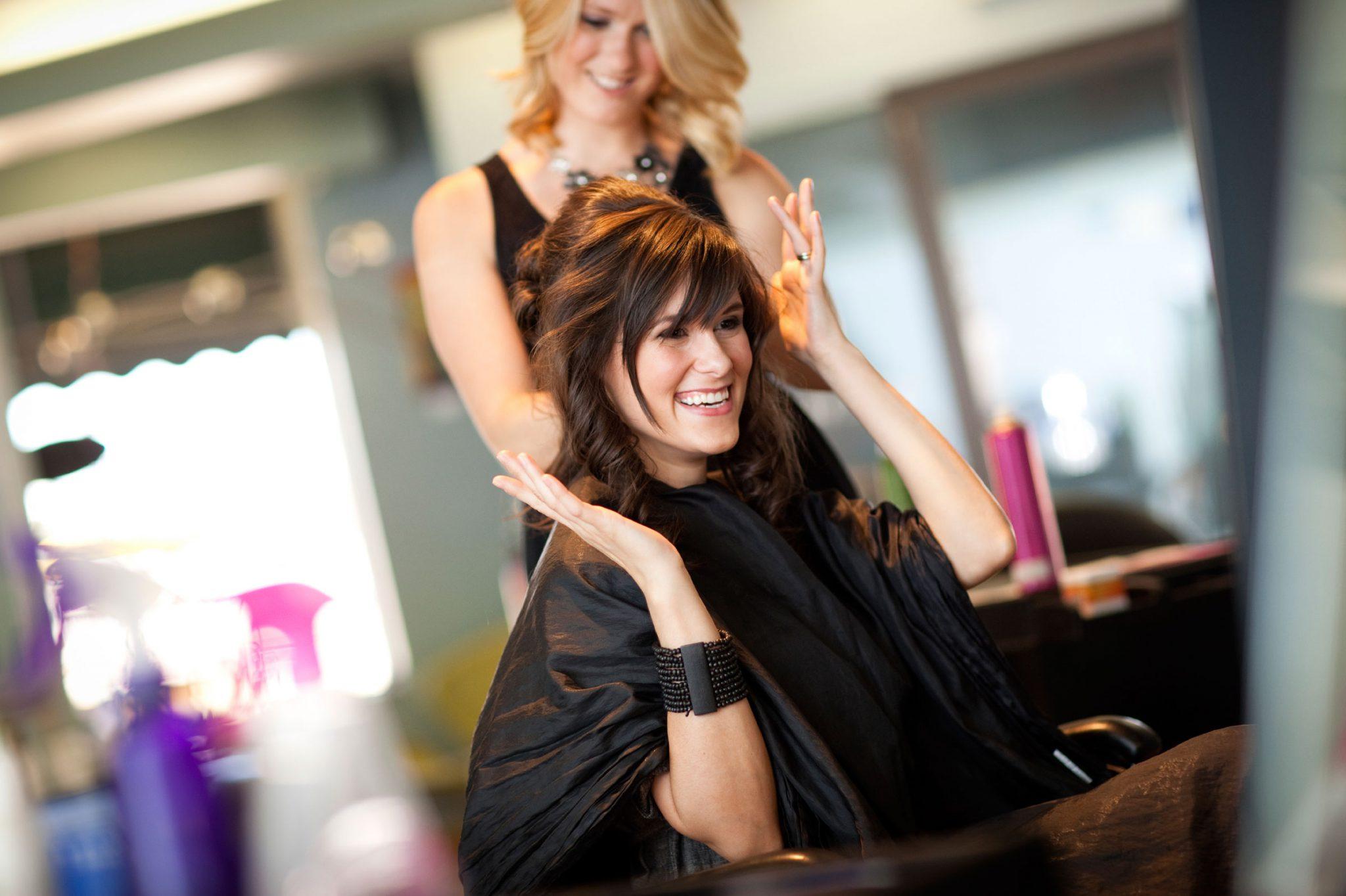 в парикмахерской фото 4