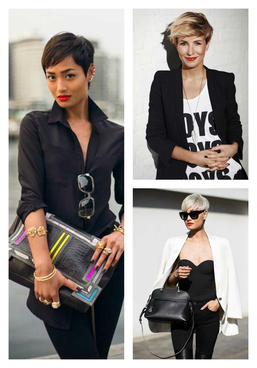 короткая стрижка и стиль в одежде