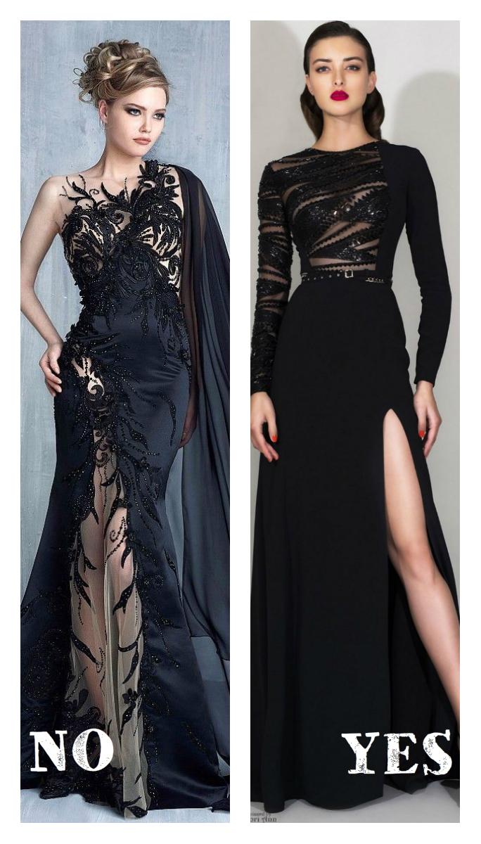 вечерняя платье и прическа