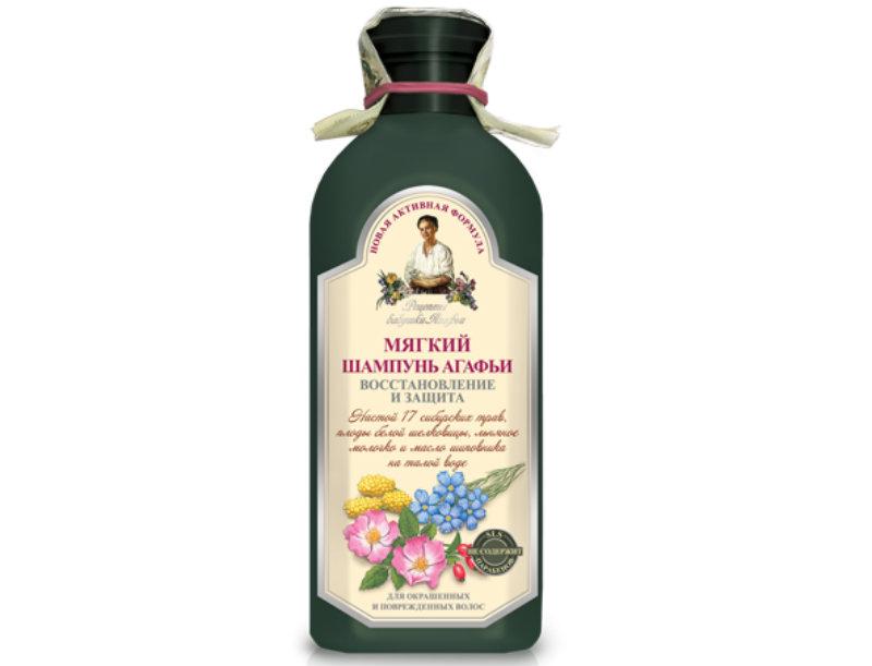 мягкий шампунь Бабушки Агафьи