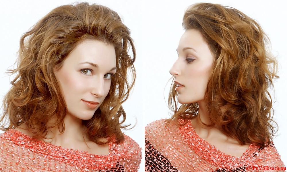 эффект воска для волос