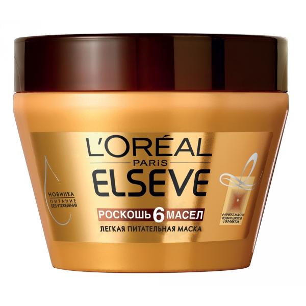 Летнее средство для волос: «Роскошь 6 Масел» от L'Oreal Paris