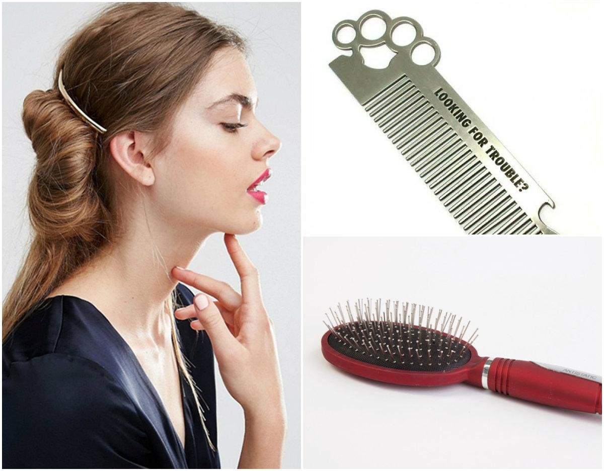 металлические расчески для волос