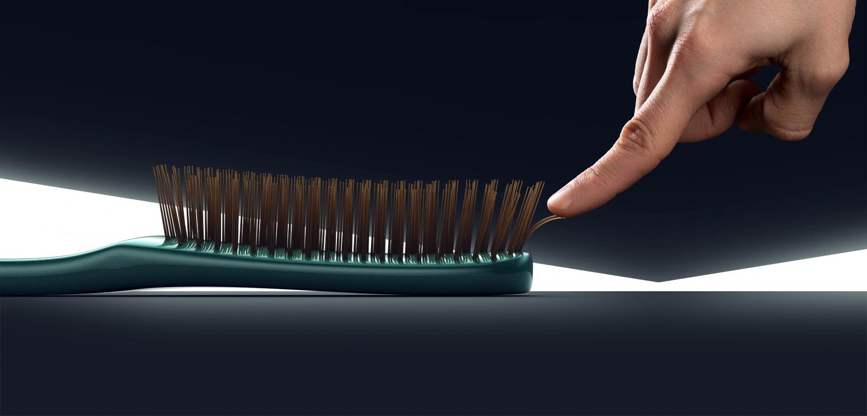 расческа для редких волос